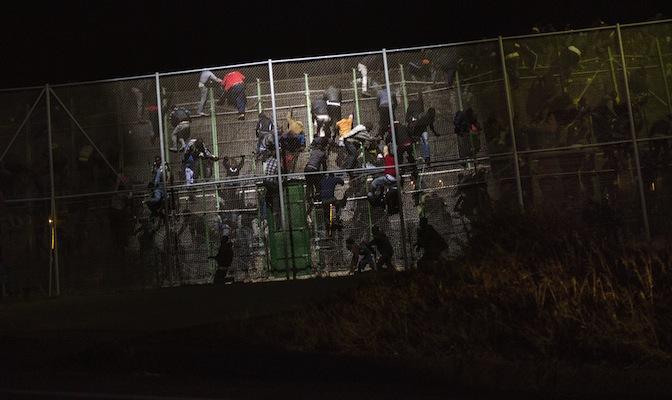 Evelyn Marsters, Melilla border, migration, Impolitikal