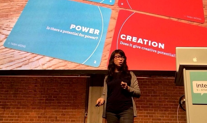 Tash Wong, Interaction Design Conference 2014, Amsterdam