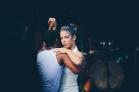 Salsa dancing in Viñales, Cuba