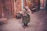 The alleyways of Abyaneh, Iran
