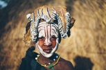 Young girl from the Mursi tribe, Lower Omo Valley, Ethiopia