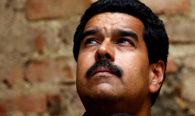 Nicolas Maduro, by Yoani Sanchez