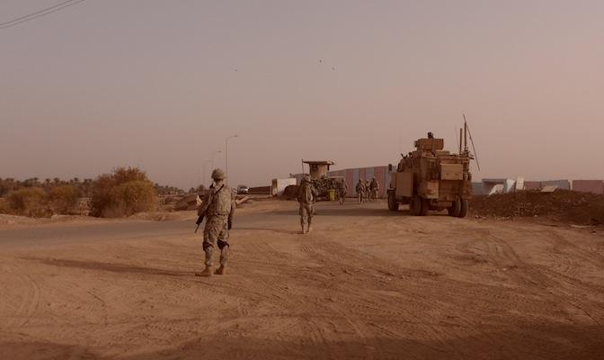Dan Jones, US military, IS, PTSD, Iraq, Haiti, American Sniper