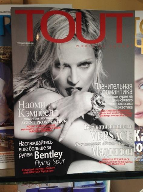Russian magazine, Marbella