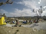 Better days for Moria camp