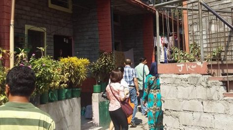 St Hannibal housing project, Manila, Philippines, housing