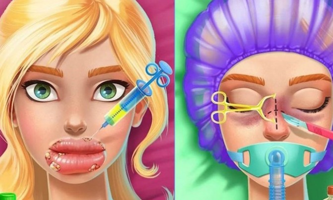 Angela Barnett, cosmetic surgery apps