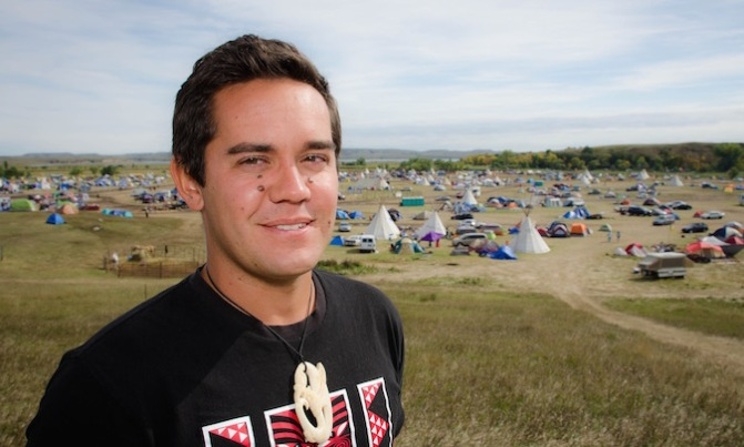 Q&A | Kingi Snelgar on spending time at Standing Rock, protesting the DAPL